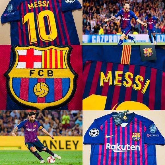 9092b7b83 Leo Messi  10 ⚽ FC Barcelona BARCA Soccer Jersey. NWT. Nike.  M 5c3fd212c9bf50d3c5fe55a1. M 5c3fd20a534ef901ca0551ae.  M 5c3fd20bc9bf503192fe5581